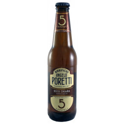 Birra Poretti 5 Luppoli Bock 33 cl VAP