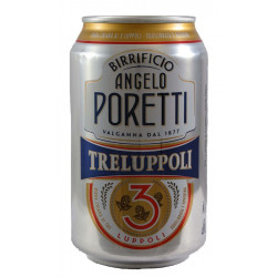 Birra Poretti 3 Luppoli Lattina