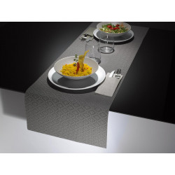 Linea Table Runner Grigio