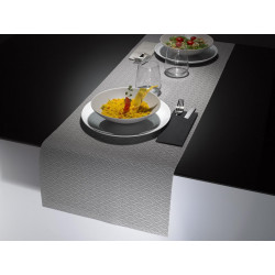Linea Table Runner Tortora