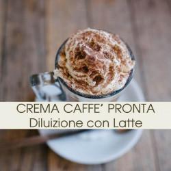 Crema Al Caffe Per Bar Pronta