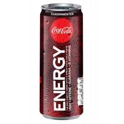 Coke Energy 25 cl Can Sleek