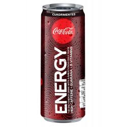 Coke Energy 25 cl Can Sleek