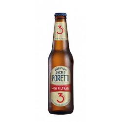 Birra Poretti 3 Luppoli non Filtrata 33 cl VAP